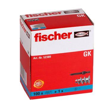 fischer Gipskartondübel GK - 100 Stück – Bild 2