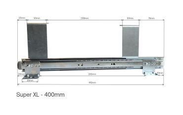 Teleskopschienen 400mm Super XL lichtes Höhenmaß 122mm zur Untertischmontage – Bild 7