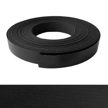 Umleimer, Kantenumleimer - Melamin, Esche schwarz pore Dekor - 22 mm x 50 m – Bild 1