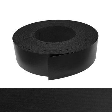 Umleimer, Kantenumleimer - Melamin, Esche schwarz pore Dekor - 45 mm x 5 m – Bild 1