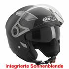 Büse Jet Helm ROCC 120 matt titan Größe M