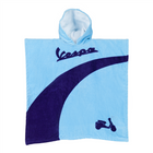 Vespa Kinder Poncho Color blau