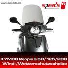 SPEEDS Windschild für Kymco People S 50 / S 125 / S 200