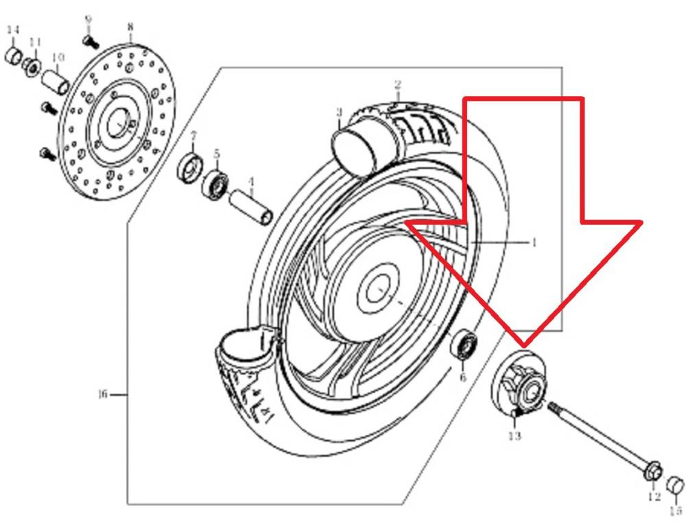 original rex tachometerantrieb f r rs 450 ersatzteile roller. Black Bedroom Furniture Sets. Home Design Ideas