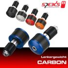 Speeds Lenkergewicht CARBON blau Barends