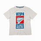 Original Vespa Herren T-Shirt Motiv Poster weiß Größe XXXL Kollektion 2013