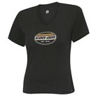 Original CAN AM BRP Damen Authentic T-Shirt in schwarz