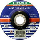 Hitachi Trennscheibe Metall 115x2 5 gekröpft VE 25 Stück