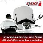 Speeds Windschild für KYMCO LIKE 50 / 125 / 200