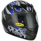 Speeds Performance II Integralhelme TRIBAL Graphic blau