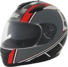 ROADSTAR Integral-Helm  Phantom , Dekor Racer schwarz rot