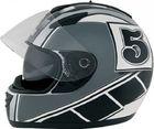 ROADSTAR Integral-Helm  Phantom , Dekor Racer schwarz grau