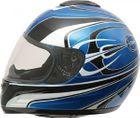 ROADSTAR Integral-Helm  Revolution , Dekor Pitchfork blau Größe S