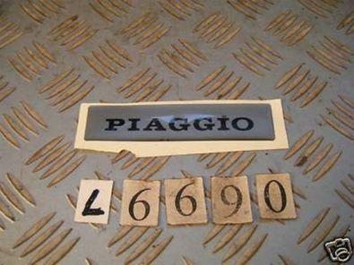 Schriftzug Piaggio Roller Scooter