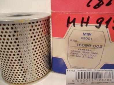 Ölfilter MIW K2001