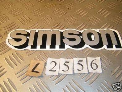 Simson Aufkleber Silber Roller Scooter