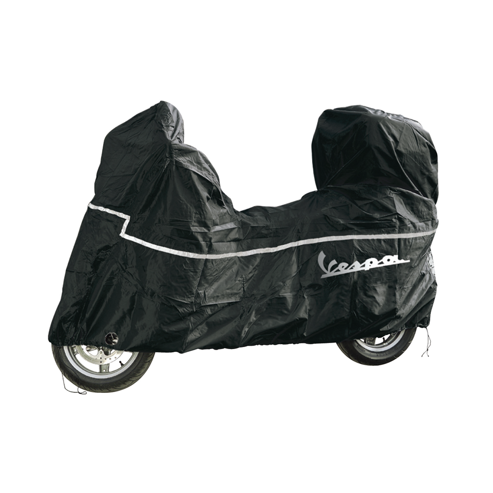 vespa fahrzeugabdeckplane faltgarage f r roller gts gtv. Black Bedroom Furniture Sets. Home Design Ideas