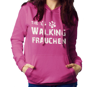 "Hoody ""The Walking Frauchen""  – Bild 2"