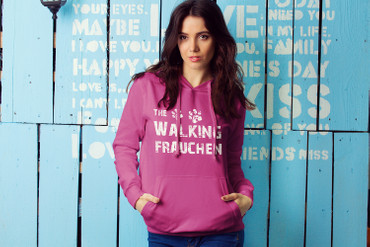 "Hoody ""The Walking Frauchen""  – Bild 1"