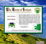Irischer Adelstitel Lord of Kerry