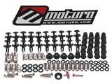Moturo Verkleidungsschrauben Set für Kawasaki ZX-6R 09-12 - Verkleidungsteile