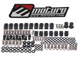 Moturo Verkleidungsschrauben Set für Ducati 749 999 - Verkleidungsteile