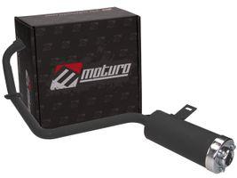 Moturo Auspuffanlage für Bashan 200ccm (BS200S-3) - Original