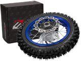 "Moturo Komplettrad hinten 12"" blau für Dirt Bike AGB29 - 80/xx"