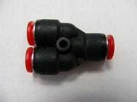 Y-Stück 2x 6 mm - 1x 6 mm (Steckfitting)