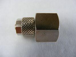 Gerader Verbinder 1/4  IG - 6mm (bearbeiteter Schraubfitting)