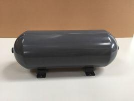 nahtloser Aluminium-Luftbehälter grau glänzend