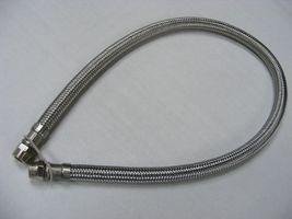 Stahlflexleitung 1/4  für einen Stoßdämpfer