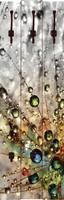 agika7: Farbenfrohe Natur - Wandgarderobe, Paneele 140 x 45 cm – Bild 1
