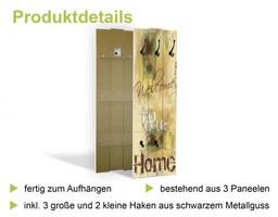 agika7: Farbenfrohe Natur - Wandgarderobe, Paneele 140 x 45 cm – Bild 3