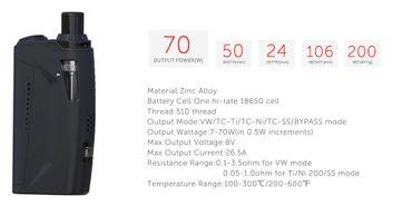 Teslacigs AIO 70W Starter Kit Akkuträger MOD E-Zigarette ohne Nikotin – Bild 3