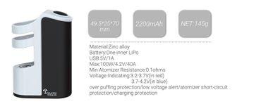 Teslacigs Stealth Akkuträger MOD  100W 2200mAh LiPo – Bild 3