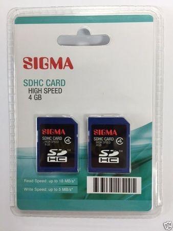 2 Stück SDHC Card 4GB CL 4 510067