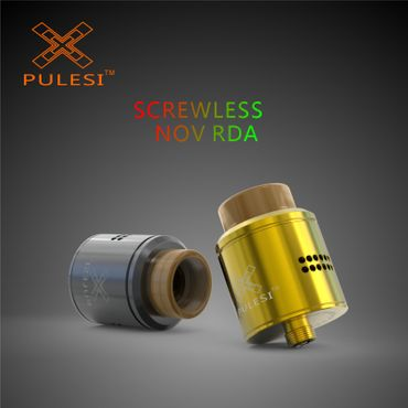 Pulesi NOV RDA Tröpfel Verdampfer Screwless – Bild 6