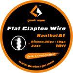 GeekVape Wickeldraht Flat Clapton KA1 26GA*18GA + 32GA 3m 001