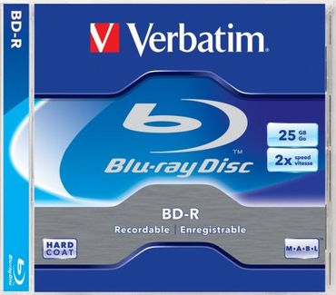 30 Stück Verbatim BD-R Single Layer 2x 25GB Scratchguard Plus