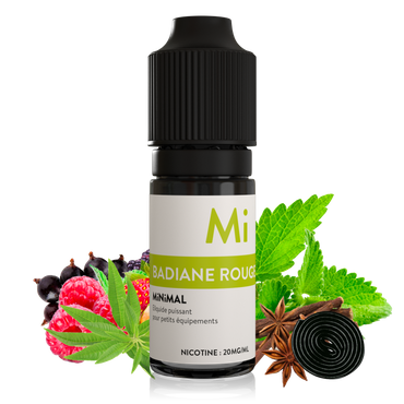 MiNiMAL Nikotinsalz E-Liquid 10ml/20mg – Bild 10
