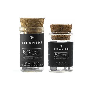 Titanide Inowire-Coil 0,3 Ohm-Edelstahl 304L 2Stück – Bild 1