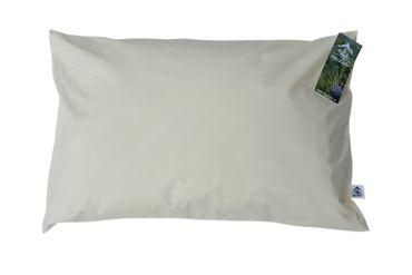 myZirbe Zirbenkissen Kopfkissen für erholsamen, entspannten Schlaf gefüllt mit Zirbenflocken aus 100% Alpen Zirbenholz  Größe: 60x40 cm – Bild 1
