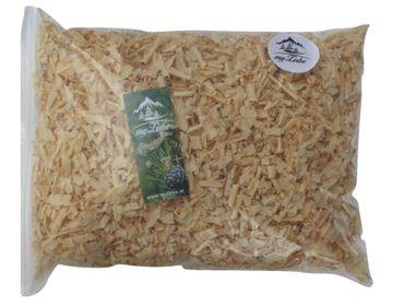 Zirbenspäne, Zirbenflocken  12 Liter , Zirbenkissen Füllung aus 100% Alpen Zirbenholz zum Nachfüllen – Bild 1
