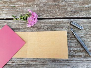 Holzgrußkarte - GLÜCKWUNSCH ZUM BABY - 100% handmade in Österreich - Postkarte, Geschenkkarte, Grußkarte, Klappkarte, Karte, Einladung – Bild 3