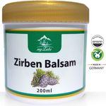 Zirbenbalsam 200ml mit Zirbenöl aus Österreich für Nacken, Muskeln, Gelenke und wohltuend bei Erkältungsbeschwerden hergestellt  001