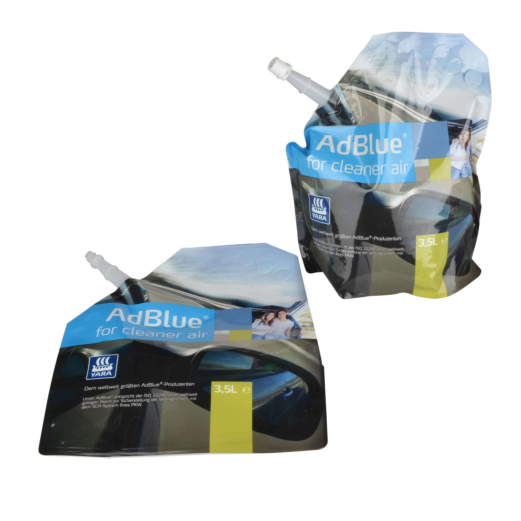 AdBlue® for Cleaner Air - Yara - 3x 3,5 Liter Standbeutel – Bild 4