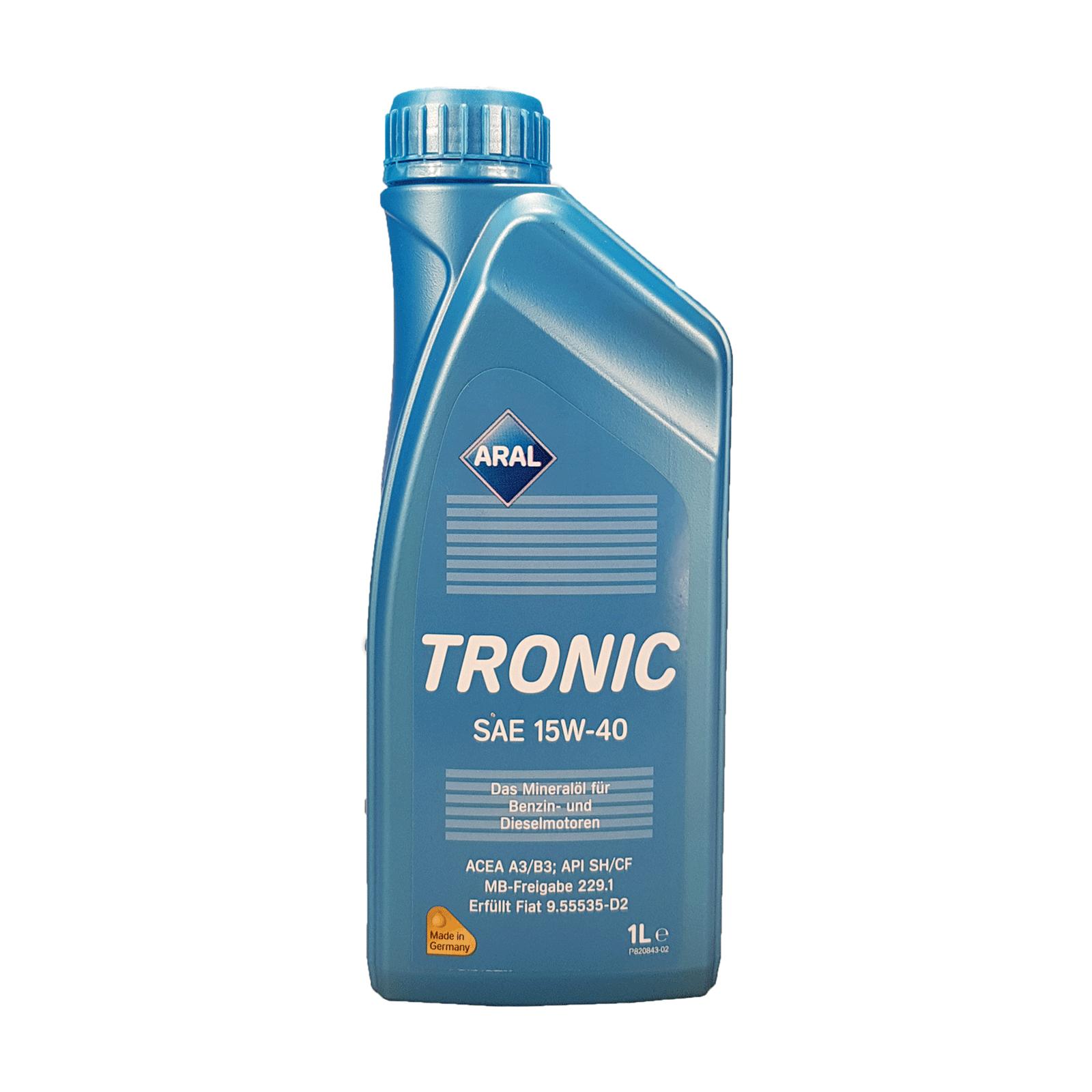 Aral Tronic 15W-40 - 1 Liter – Bild 1