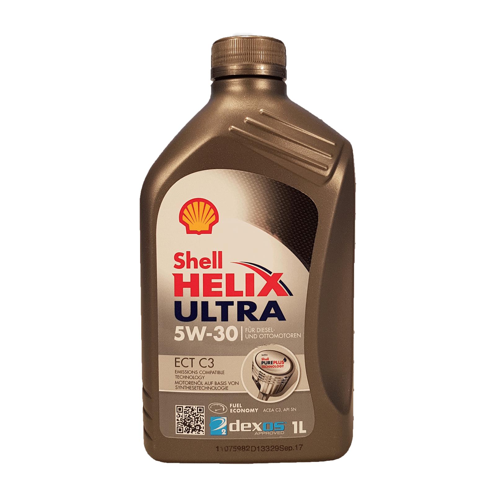 Shell Helix Ultra ECT C3 5W-30 - 1 Liter – Bild 1