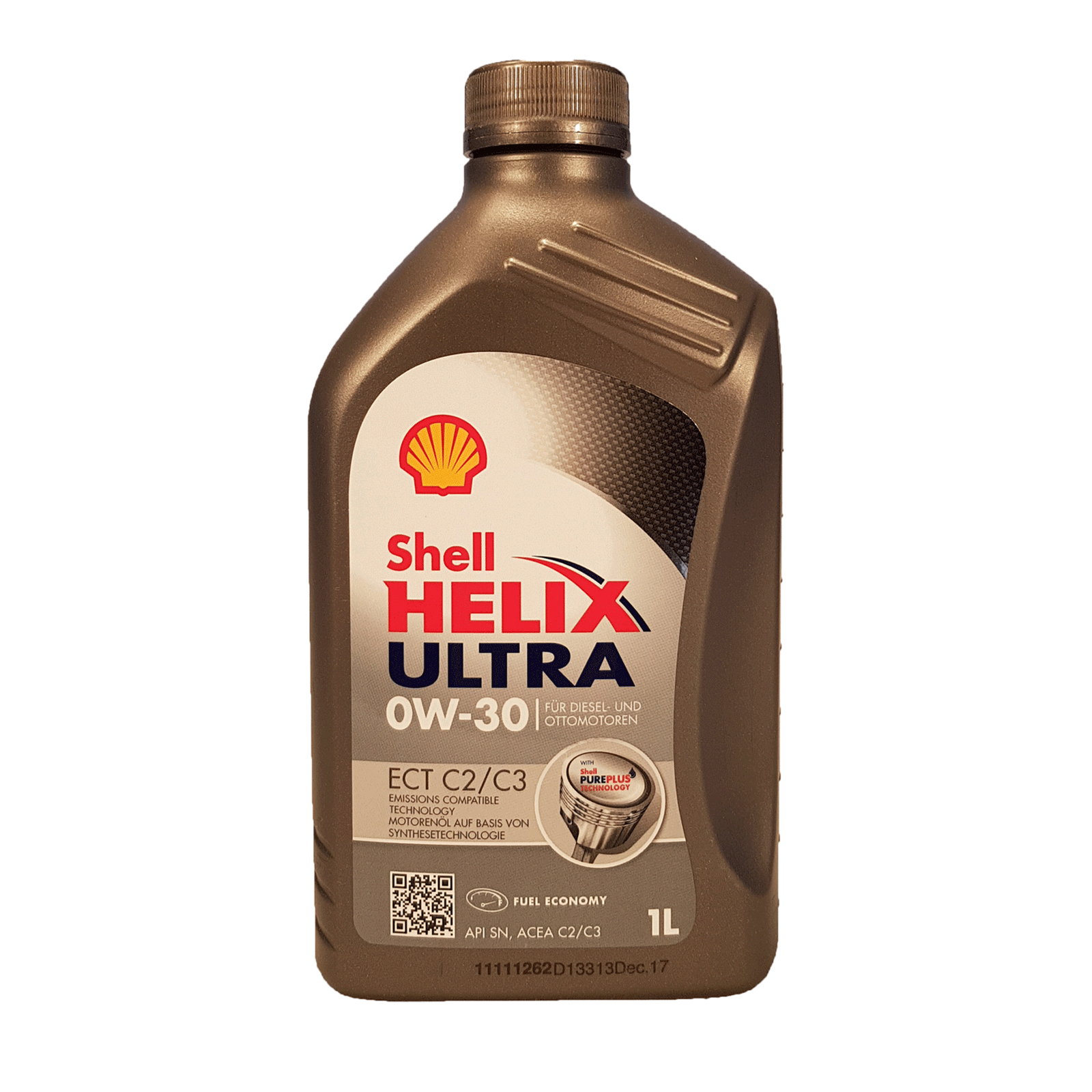 Shell Helix Ultra ECT C2 C3 0W-30 1 Liter – Bild 1